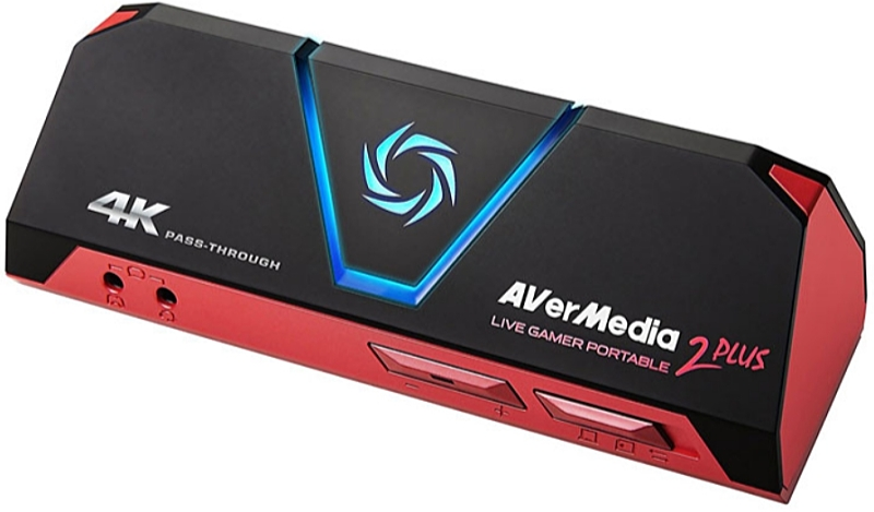 AverMedia - VIDEO digitalizáló - AVerMedia Live Gamer Portable 2 Plus Game Capture