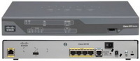 Cisco - Router vezetékes - Cisco C881-K9 Security Router