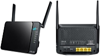 ASUS - Wireless router, adapter - Asus 4G-N12 300Mbps router + LTE modem