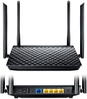 ASUS - Wireless router, adapter - ASUS RT-AC1200G+ Dual-Band gigabit router