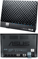 ASUS - Wireless router, adapter - Asus DSL-N17U Wireless-N300 Gigabit ADSL/VDSL router + modem