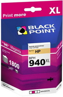 Black Point - Patron - Black Point HP No.940XL utángyártott tintapatron, Magenta