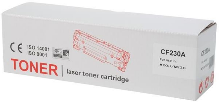 Tender - Printer Laser Toner - TENDER HP CF230A utángyártott toner, Black
